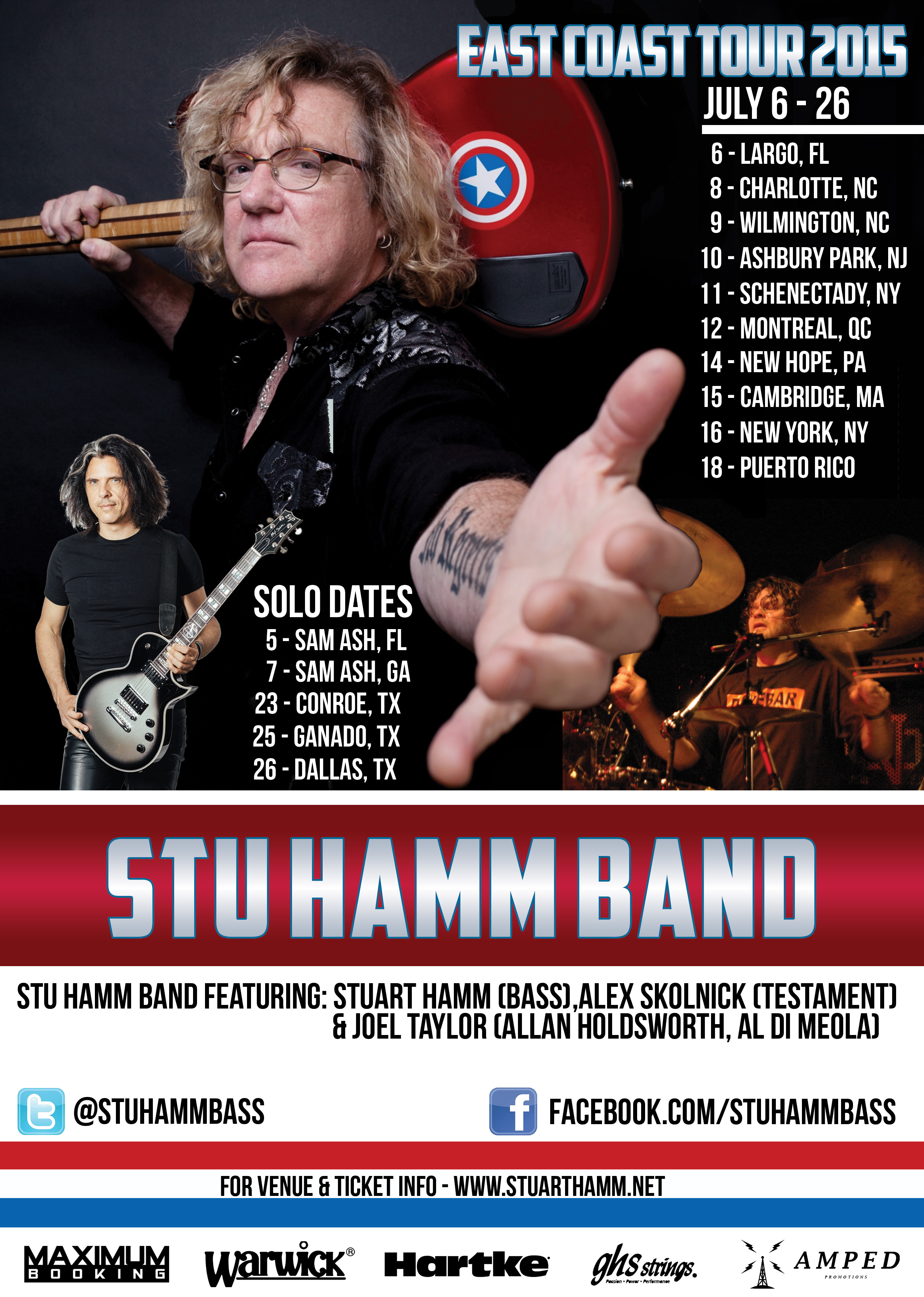 Stu-Hamm-East-Coast-Tour